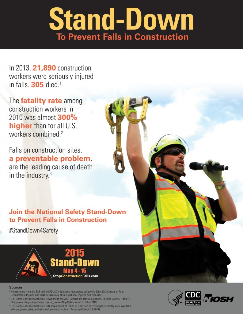 NIOSH Stand-Down Infographic 5-15